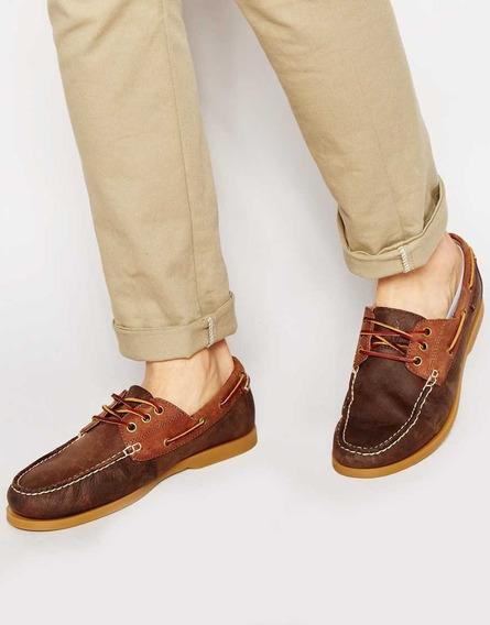 Polo Ralph Lauren Zapatos De Caballero Marrones(talla 41)