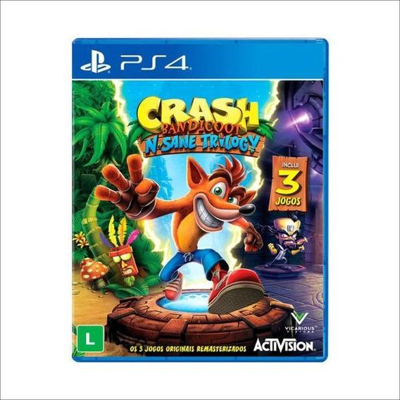 Jogo Ps4 - Crash Bandicoot N. Sane Trilogy