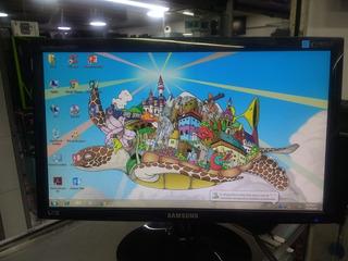 Monitor Samsung Aoc Lg Led 19 Con Cables Usado