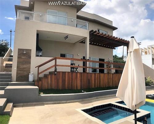 Imagem 1 de 25 de Casa Em Condomínio, Atibaia Serra Da Estrela, Portaria, Rondas E Área De Lazer... - Ca01221 - 69287206