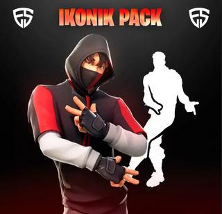 Pack Ikonik Incluye Skin Y El Baile Scenario