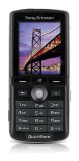 Sony Ericsson K750i Libre Negro Camara 2 Mp 64mb Radio Fm