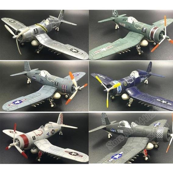 Coleção Avião Para Montar Segunda Guerra 6 Aviões 1:48