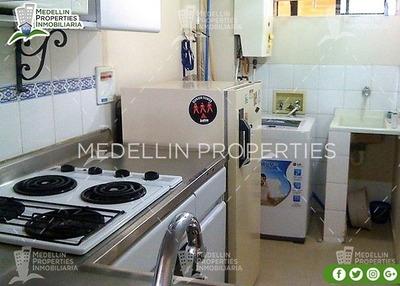 Arrendamientos De Apartamentos Baratos En Medellín Cód: 4240