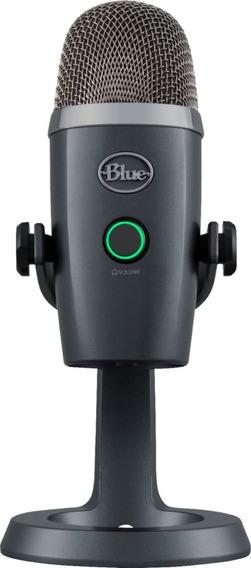 Microfone Blue Yeti Nano Condensador Usb Até Windows 10
