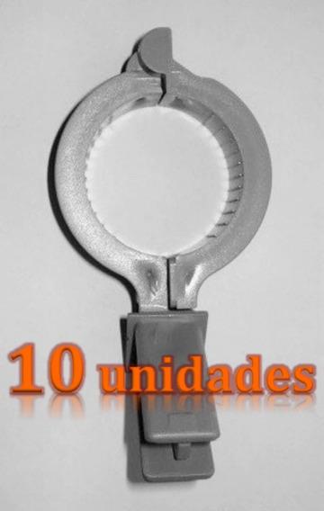 10 X Suportes Lnb Flange Abraçadeira Lnbf Ku Zirok 2x2 Cm