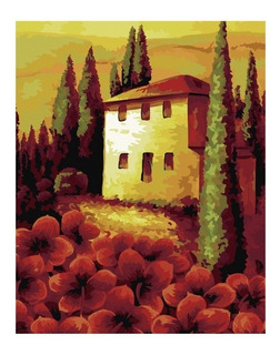 Juego Canvas Pinta Tu Cuadro 40x50 Cm