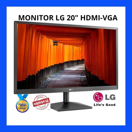 Monitor LG 20mk400h/ Samsung/ Hp/hdmi-vga  Audio,factura