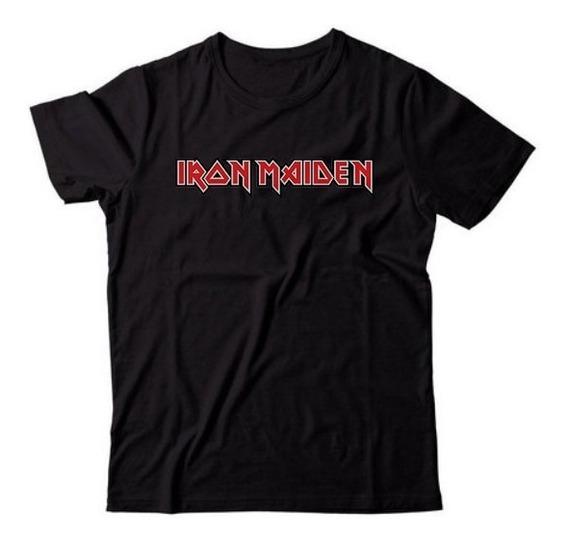 Camiseta Camisa Iron Maiden Rock In Rio 2019 A Melhor Oferta