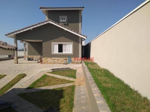 Casa Com 3 Dormitórios À Venda, 250 M² Por R$ 750.000 - Jd Rosa Helena - Igaratá/sp - Ca0673