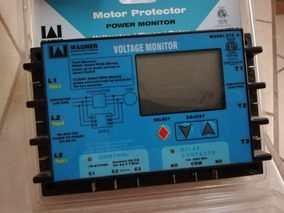 Motor Protector Voltaje Monitor De Fases (wager)