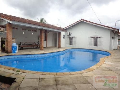 Imagem 1 de 15 de Casa Para Venda Em Peruíbe, Centro, 3 Dormitórios, 1 Suíte, 1 Banheiro, 4 Vagas - 0907_2-458659