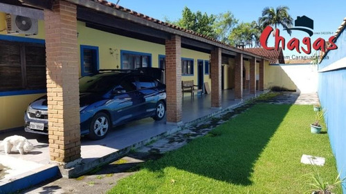 Casa Em Condomínio Na Praia Do Massaguaçu Caraguatatuba - 1233