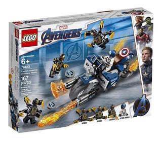 Lego Avengers Capitán América 76123: Ataque De Los Outriders