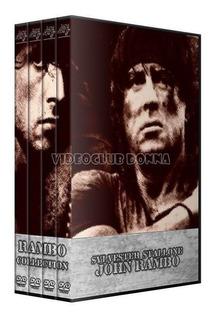 Rambo Colección Completa Pack Películas Dvd Latino Saga