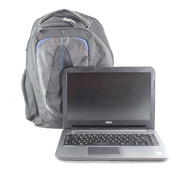 Notebook Dell 3440 Core I5 4210u Usado + Brinde Mochila Dell