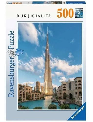 Rompecabezas 500 Piezas Ravensburger: Burj Khalifa