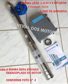 Bomba Leão Caneta 3r3-pb 09 180 1/2cv X 220 V + Painel