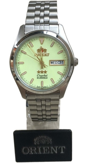 Relógio Orient Automatico Masculino Classico Caixa Nf