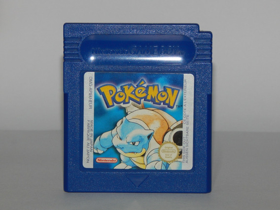 Pokemon Blue Original Americano - Game Boy Color