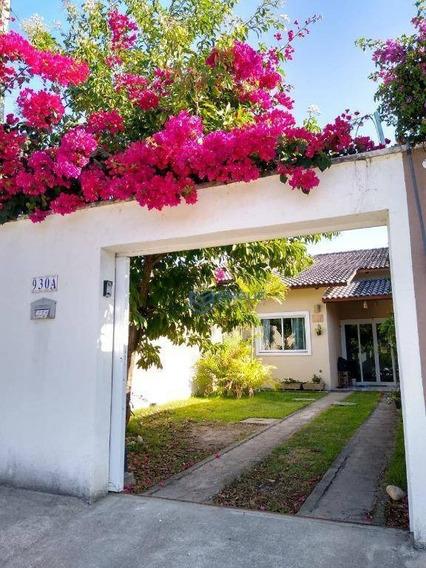 Casa Com 2 Dormitórios À Venda, 61 M² Por R$ 190.000 - Mangabeira - Eusébio/ce - Ca0971