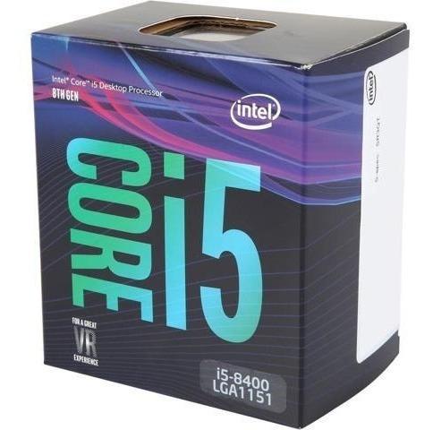 Kit Pc Intel Core I5 - 8400 - Com Placa Mãe Asrock B360m- Hdv + 4 Gb Ram Ddr4 2400 Mhz