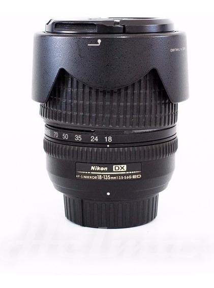 Lente Nikon 18-135 Mm Ed-if Af-s Dx Nikkor Usada