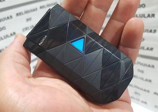 Celular Nokia 7070 Over Black Fliper Pequeno Lindo Rarissimo