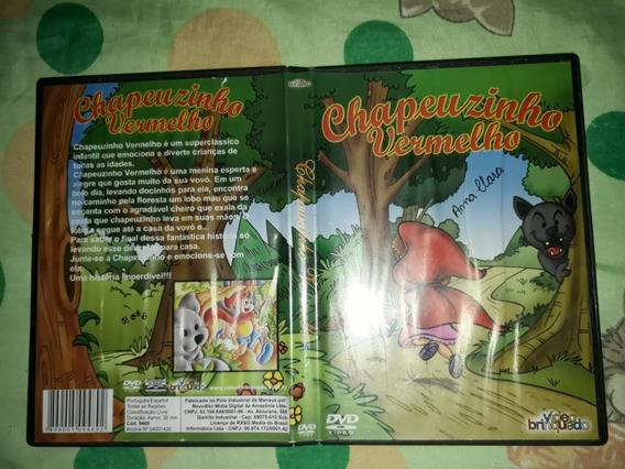 Dvd Original - Chapeuzinho Vermelho Video Brinquedos