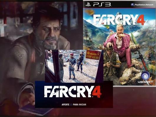 Farcry 4 Ps3 Midia Digital Leia Decrição