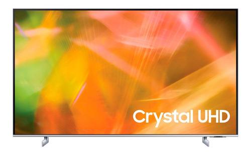 Imagen 1 de 8 de Tv Uhd 4k Smart Tv Au8200 (2021) Gris Titan 50  Samsung