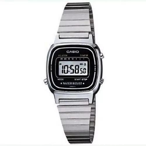 Relógio Casio Feminino La670wa-1df Original + Garantia + Nf