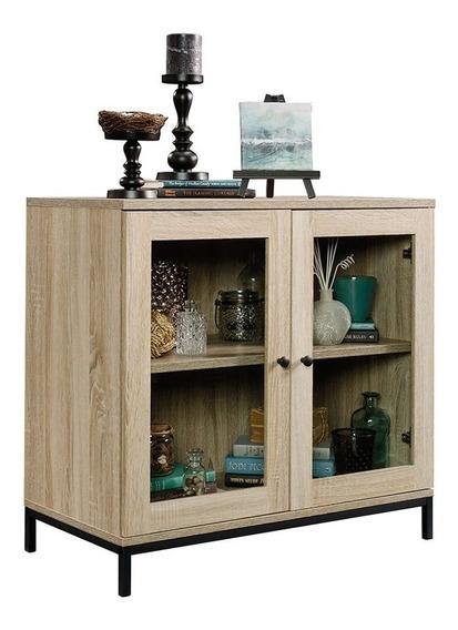 Mueble Credenza Con Puertas De Vidrio 420035