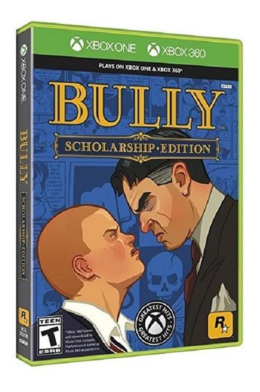 Bully Scholarship Edition Xbox 360 Xbox One Mídia Física