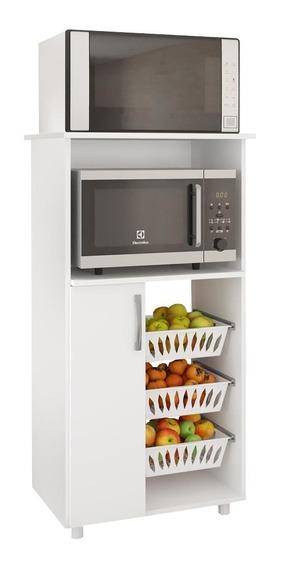 Armário De Cozinha Fruteira Para Forno E Micro 1 Porta 0260
