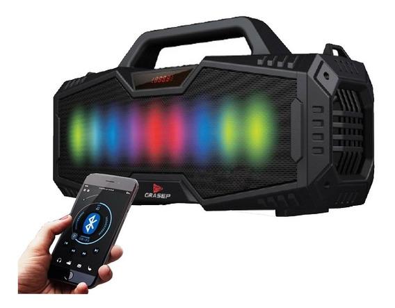 Caixa Som Bluetooth Canhão Portátil Led Bass Mp3 Usb Dp2