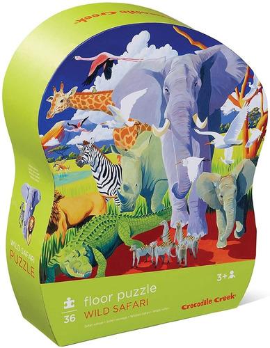 Puzzle 36 Piezas Rompecabezas Safari Bailemos Edu Full