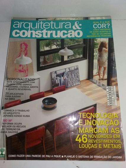 Lote Com 3 Revistas Arquitetura E Construção