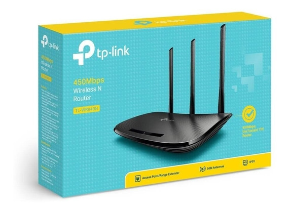 Router Tp-link Tl-wr940n Wireless N 450mbps Nuevos