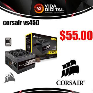 Fuente De Alimentación Corsair Vs450 450w