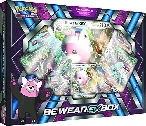Juego De Cartas Coleccionables De Pokemón. Caja Bewear-gx