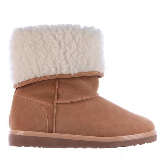 Bota De Pelos Tipo Ugg Feminina Forrada Para Frio Inverno