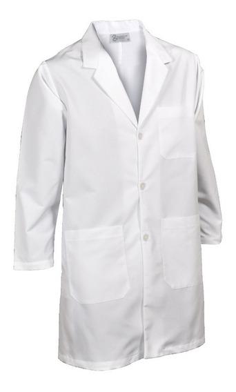 Bata Médica Caballero Escuela Laboratorio Clínica 3 Piezas