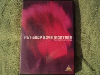 Pet Shop Boys Montage Dvd De Coleccion