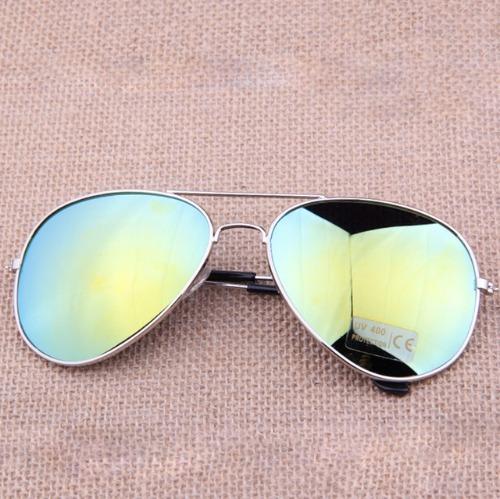 Óculos De Sol Aviador Clássico Lente Espelhada