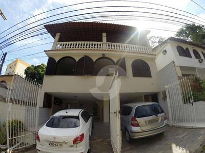 Casa 4 Qts No Fonseca. - Ca0152
