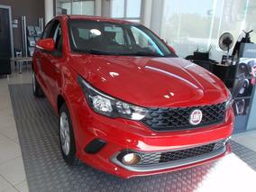 Fiat Plan 100% Argo Drive 1.3 2018 0 Km Rojo