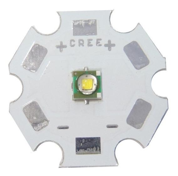 Kit X 5 Led 3w Cree Xpe Branco Comum 6500k