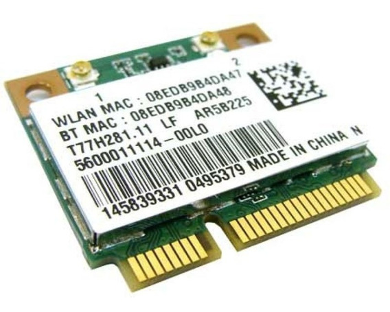 Mini Pci Wireless + Bluetooth Samsung Np300e4c Ar5b225 Nf-e