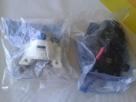 Muñecos Star Wars Darth Vader Y R2d2 En Su Empaque